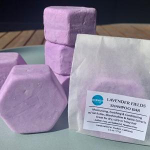 Lavender Fields Shampoo Bar 1